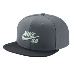 Кепка Nike SB Pro cool grey/black/pine green