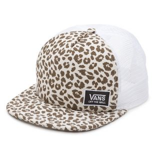 Кепка Vans Beach Girl Trucker birch leopard