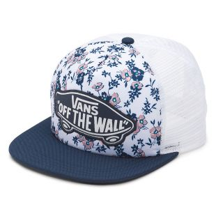 Кепка Vans Beach Girl Trucker white ditsy blooms
