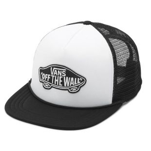 Кепка Vans Classic Patch Trucker white/black