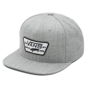 Кепка Vans Full Patch Snapback heather grey