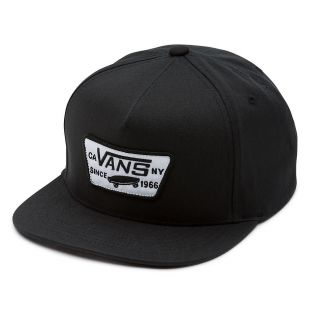 Кепка Vans Full Patch Snapback true black