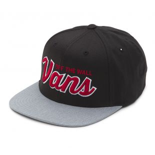 Кепка Vans Wilmington Snapback black/heather grey