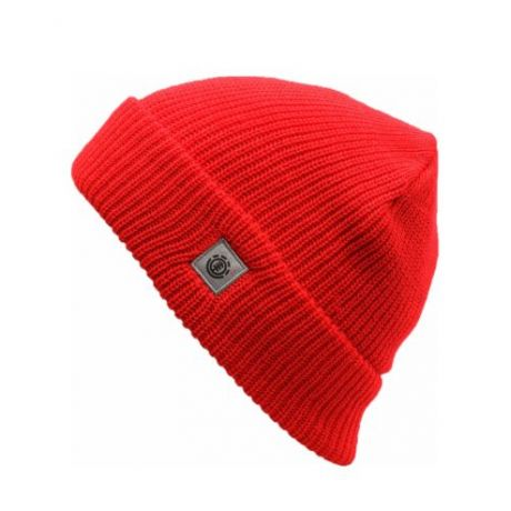 Шапка Element S Line Skully Beanie (element red)