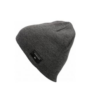Шапка Quiksilver Cushy Beanie (dark charcoal heather)