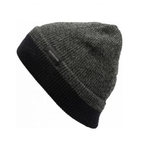 Шапка Quiksilver Performed Color Beanie (dark charcoal heather)
