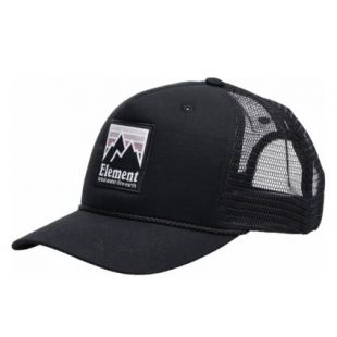 Кепка Element Peak Trucker ZD (off black)