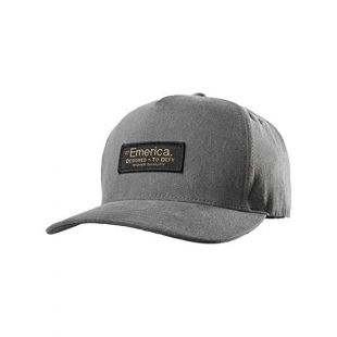 Кепка Emerica Defy Snapback ZD (grey/heather)