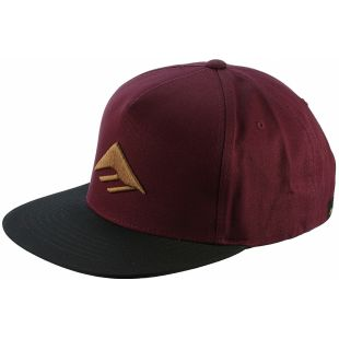 Кепка Emerica Triangle Snapback ZD (oxblood)