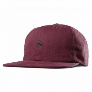 Кепка Emerica Try Strapback ZD (oxblood)