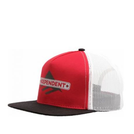 Кепка Emerica Indy Trucker ZD (red/black)