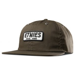 Кепка Etnies Seager Strapback ZD (olive)