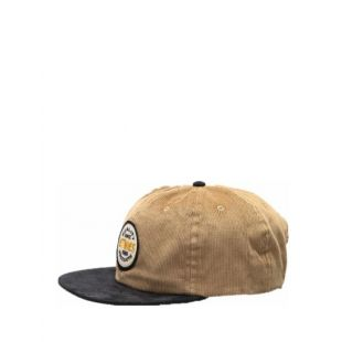 Кепка Etnies Patched Snapback ZD (black/tan)