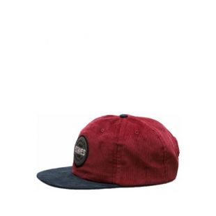 Кепка Etnies Patched Snapback ZD (burgundy)