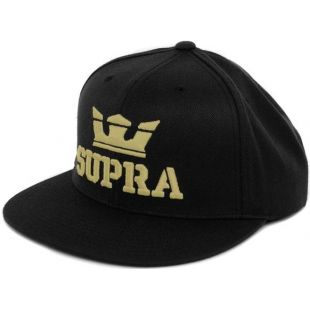 Кепка Supra Above Snap ZD (black gold)