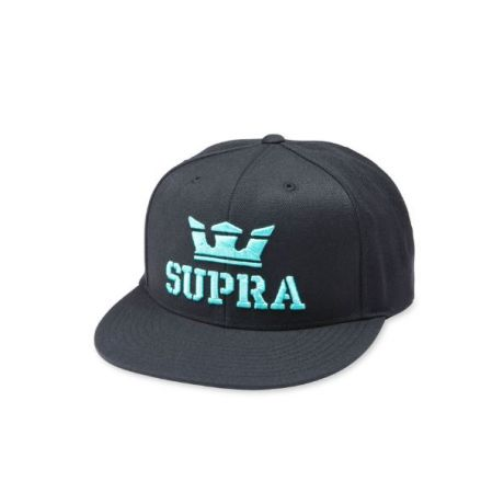 Кепка Supra Above II Snapback ZD (black/electric)