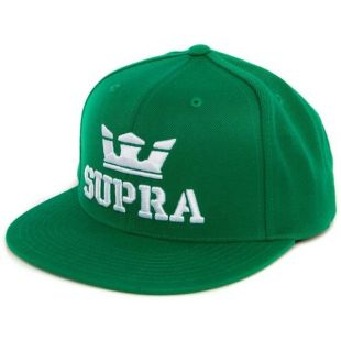 Кепка Supra Above Snap ZD (green/white white)