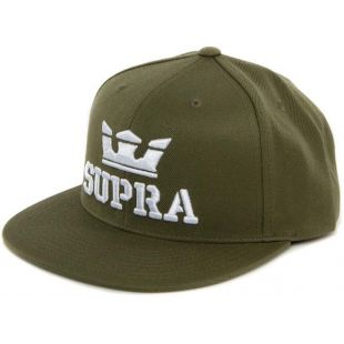 Кепка Supra Above Snap ZD (olive white)