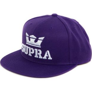 Кепка Supra Above Snap ZD (purple/white white)