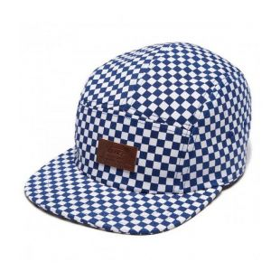 Кепка Vans Davis 5 Panel ZD (true blue/white check)