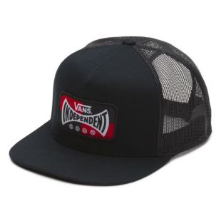 Кепка Vans X Independent Snapback ZD (black)
