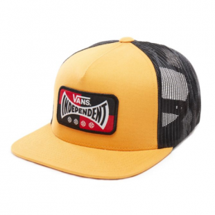 Кепка Vans X Independent Snapback ZD (sunflower)