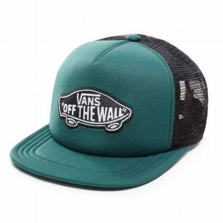 Кепка Vans Classic Patch Trucker darkest spruce