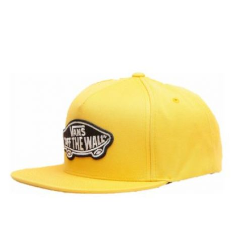Кепка Vans Classic Patch Snapback ZD (mineral/yell)