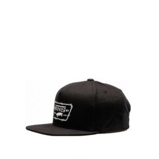 Кепка Vans Full Patch Barbed Snapback ZD (black)