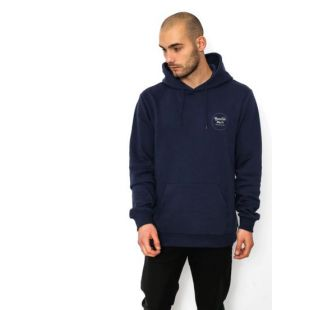 Толстовка Brixton Wheeler Intl HD (washed navy)