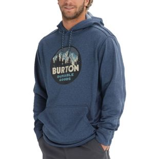 Толстовка Burton Oak HD (mood indigo heather)