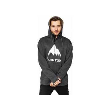 Толстовка Burton Oak ZHD (true black heather)