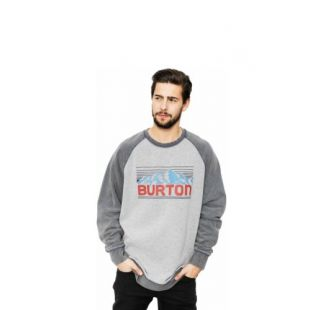 Толстовка Burton Vista Crew (gray heather)