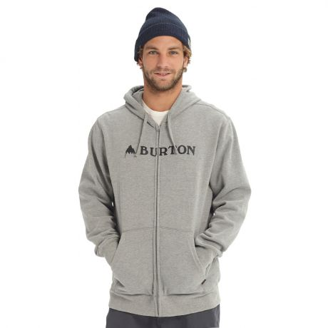 Толстовка Burton Horizontal Mountain FZ grey heather