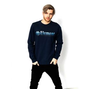 Толстовка Element Horizontal Fill Crew (eclipse navy)