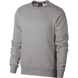 Толстовка Nike SB Crew Icon Essnl (dk grey heather/black)