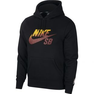Толстовка Nike SB Icon Nba HD (black/team red)