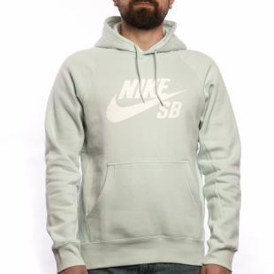 Толстовка Nike SB Sb Icon HD (barely grey/white)