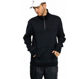 Толстовка Supra Spar Mock Half Zip (black)