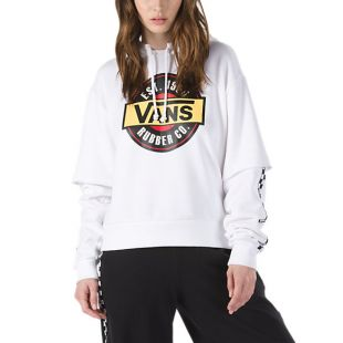 Толстовка Vans Chromo Twofer HD Wmn (white)