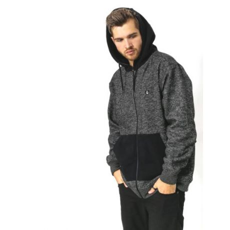 Толстовка Volcom Factual Lined Sweatshirt (blk)