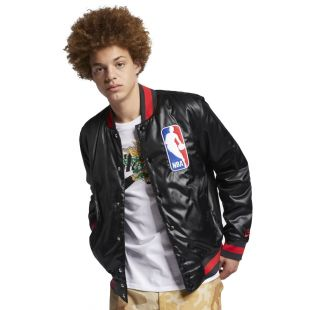 Куртка Nike SB X Nba Jacket Bomber black/black/university red