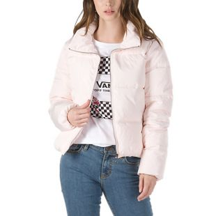 Куртка Vans Foundry Puffer Wmn (heavenly pink)