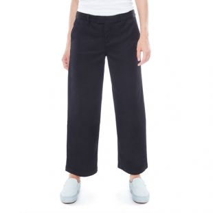 Штаны Vans Authentic Wide Leg Wmn (black)