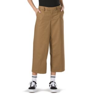 Штаны Vans Authentic Wide Leg Wmn (dirt)