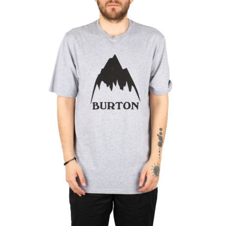 Футболка Burton Clssmtnhgh (gray heather)
