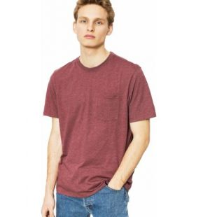 Футболка Element Basic Pocket Cr (oxblood heather)