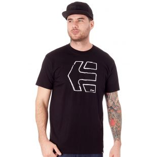 Футболка Etnies Sketch Outline (black)