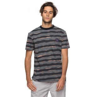 Футболка Quiksilver Allover Mad Wax (black mad max stripes)