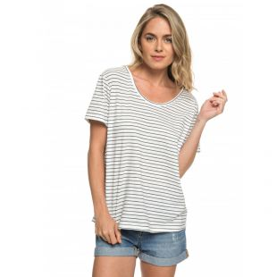 Футболка Roxy Just Simple Stripe Wmn (dress blue)